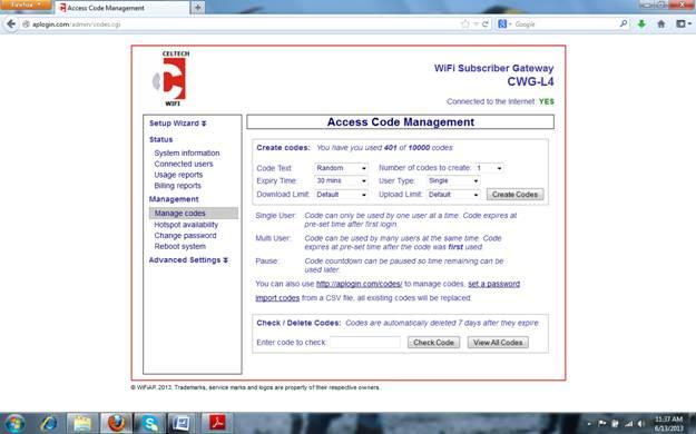 5-access-code